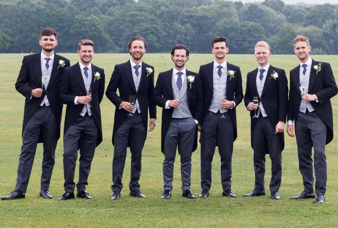 Menswear Wedding Hire